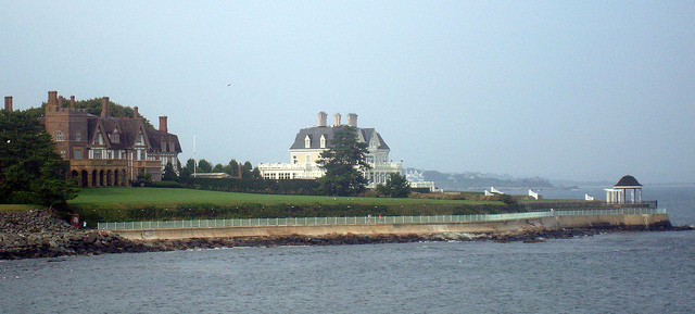 The Newport Cliffwalk and Mansions: