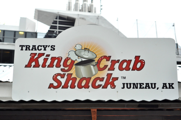 7. Grab some world famous crab legs at Tracy's!