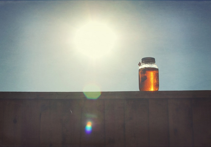 3. Move over toddy coffees: sun tea was the original cold-brewed drink.