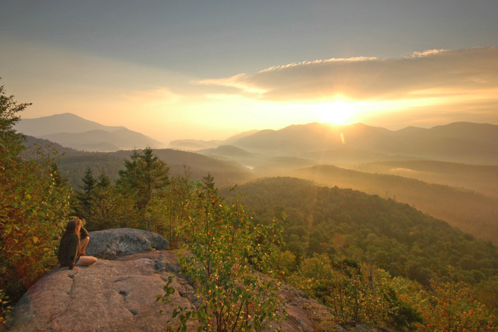 15. Not every state offers you the chance to see a breathtaking sunrise in the mountains.