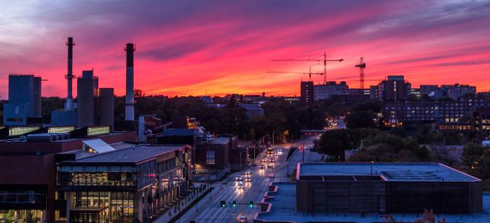 Beautiful Iowa Skyline And City Photos