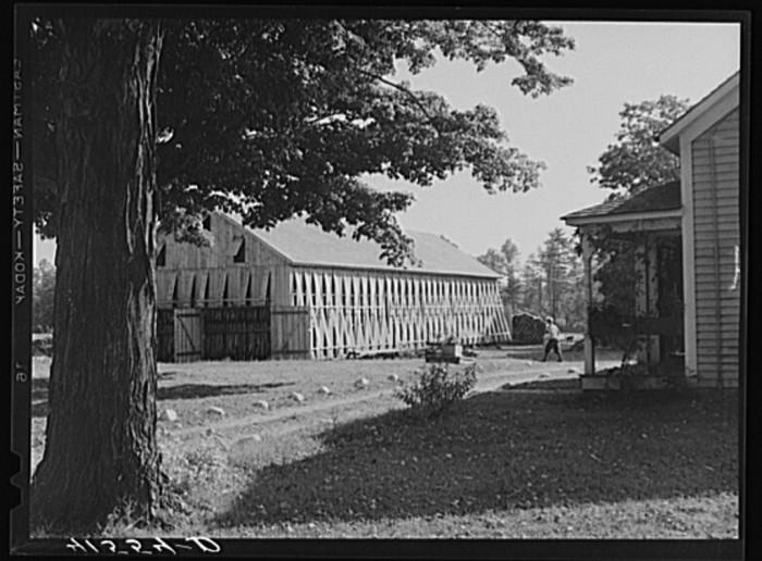 5. Tobacco barn.