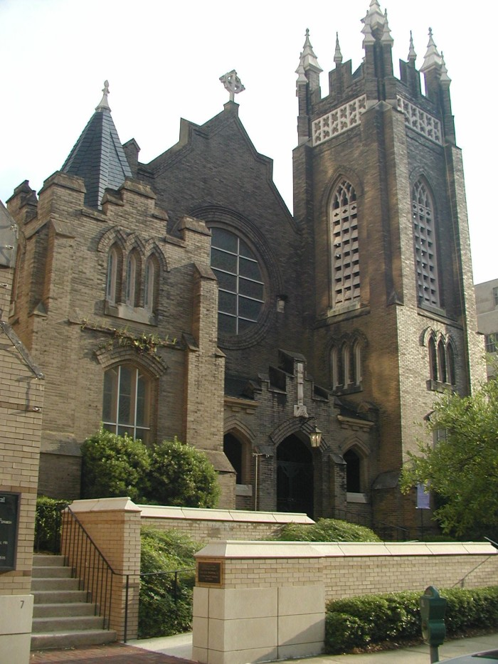 5. St. Andrew's Cathedral, Jackson