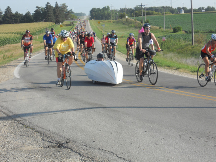 5. You've experienced RAGBRAI at least once - and saw more than you may have liked through all those tight bike shorts.