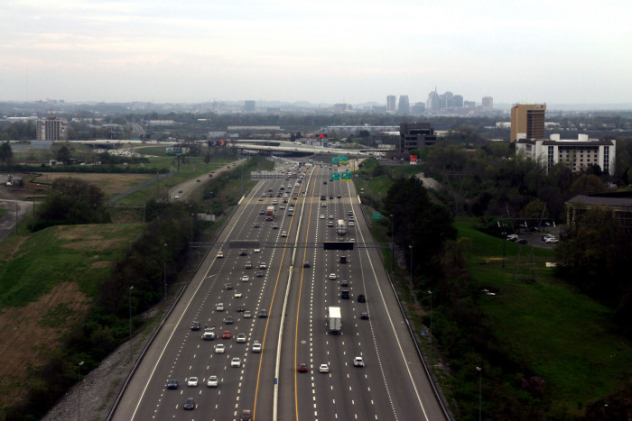 5) Nashville interstates - do you recognize them without the traffic?