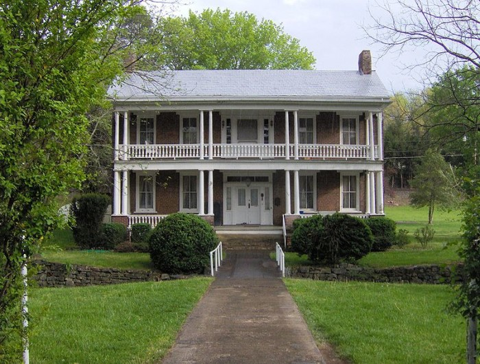 5) The Cunningham-Clayton House was built in 1850