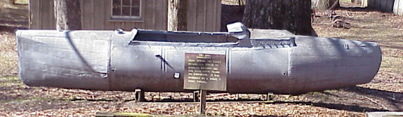 5. Moonshine Submarine, Port Gibson