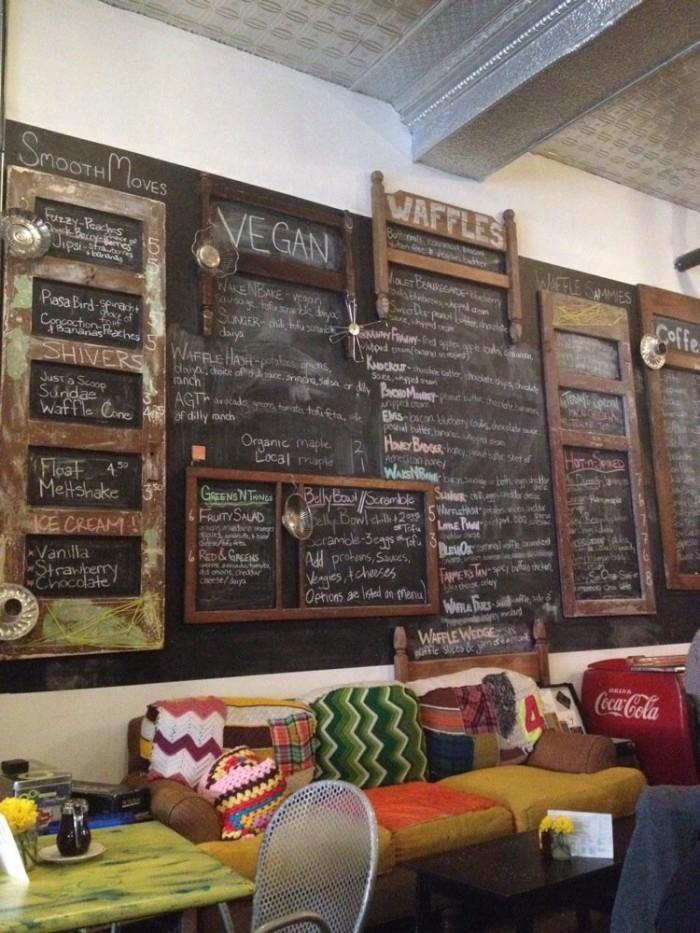 5. Waffle Bar Menu, Melt, St. Louis