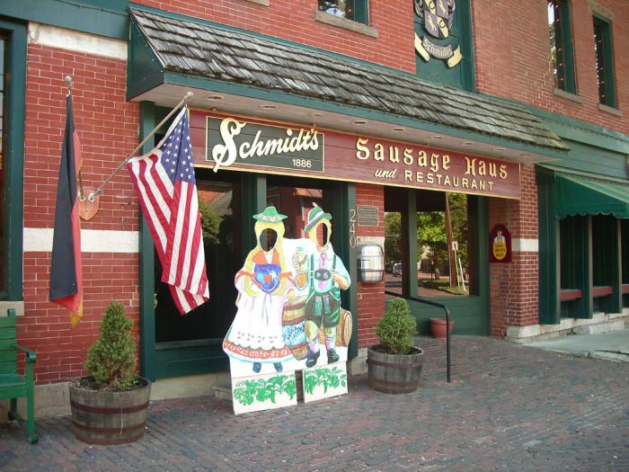 Schmidt S Sausage Haus And Restaurant Columbus