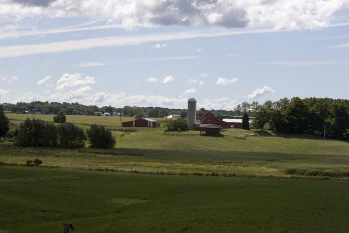 7. Farm near Middlefield, OH