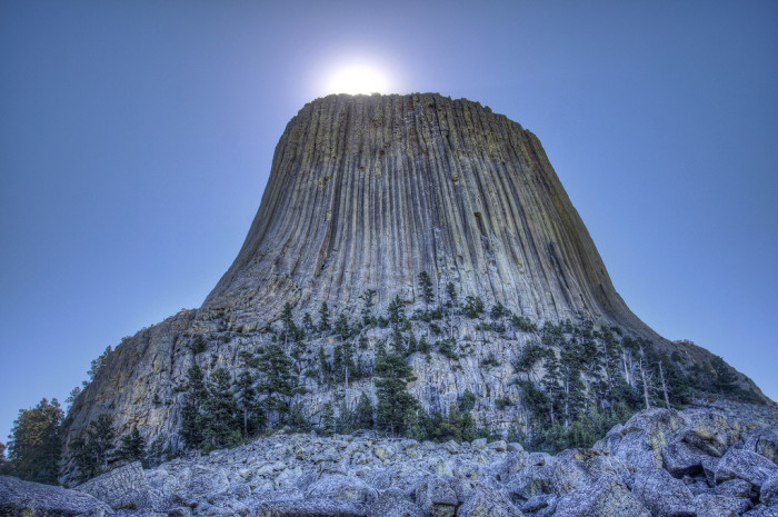 3. Wyoming is home to the world's first national monument.