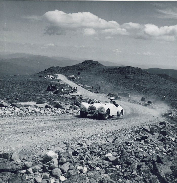 2. Racing The Mount Washington Auto Road in its youth.