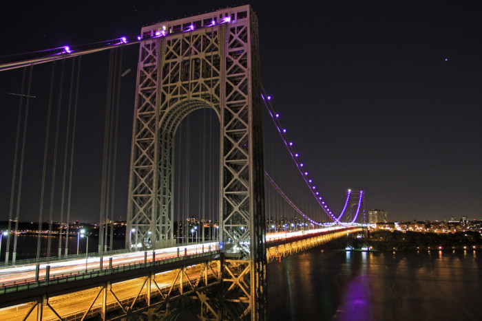 17. George Washington Bridge, Fort Lee