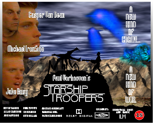 13. Starship Troopers
