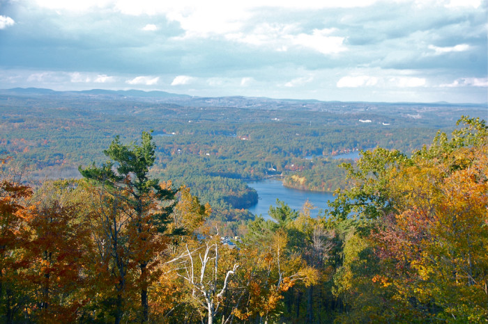 11. The view from Mt. Wachusett.