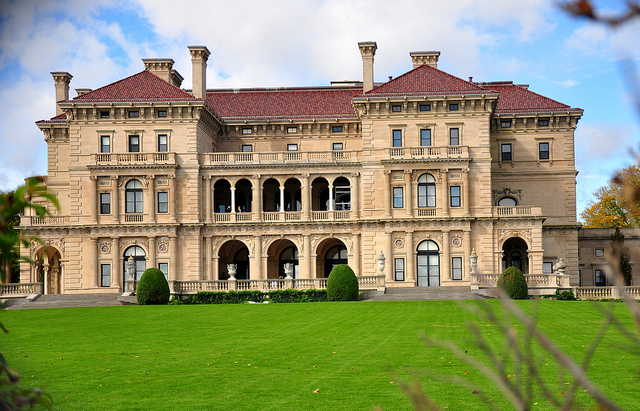 7. The Newport Cliffwalk and especially the Breakers Mansion are easy photos to recognize. It's just such a wonderful attraction.