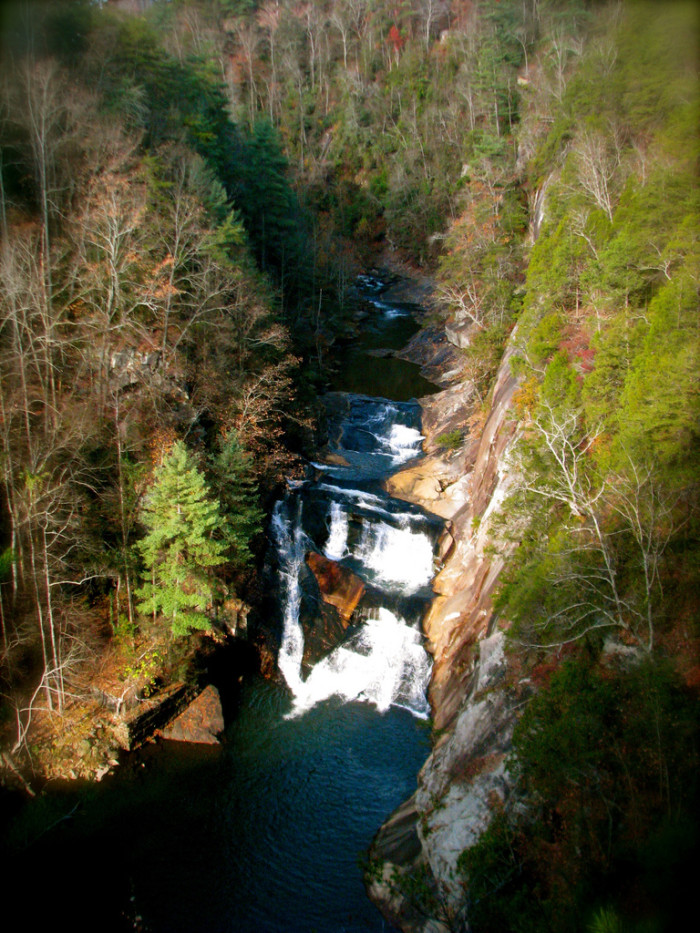 6. L'Eau d'Or Falls, one of the most frequented, and picturesque waterfalls in the entire state park: