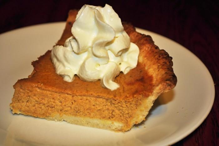 3. Pumpkin Pie