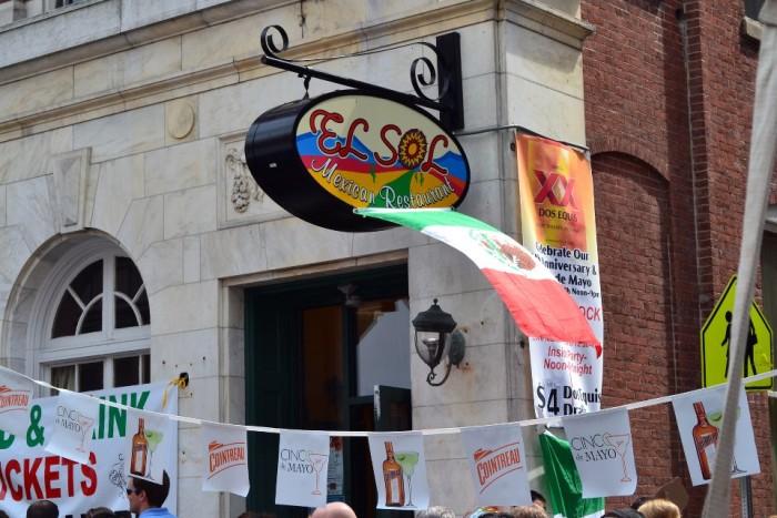 1. El Sol Mexican Restaurant, Harrisburg