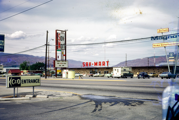 14. This was a retail shop in Wenatchee in 1974. Now they're strictly a furniture and appliance store.