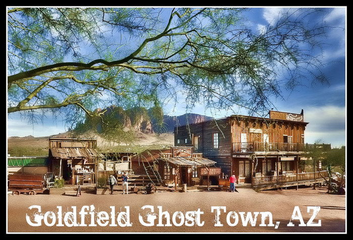 1. Goldfield Ghost Town