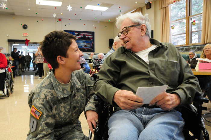 3. We are home to many veterans.