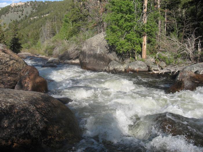 5. Popo Agie River