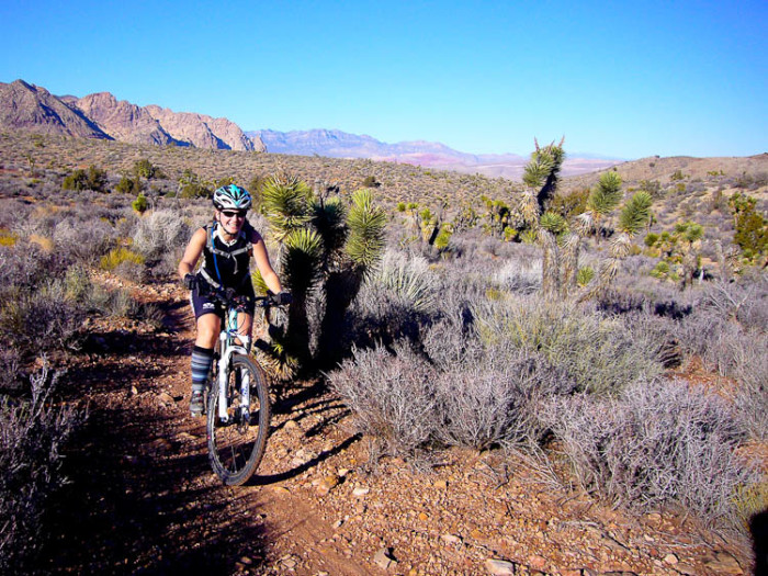 3. ...and mountain biking.