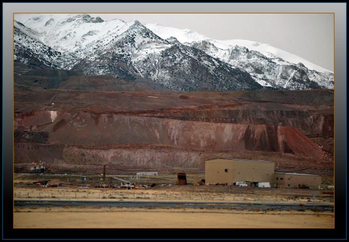 5. Gold mining.