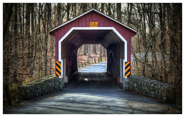 "9. Covered bridges are a special Pennsylvania tradition and for many, the sight of them signal ""home."""