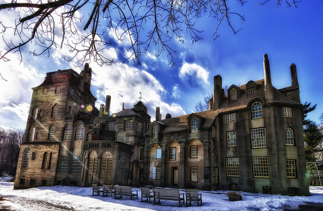 3. Fonthill Castle