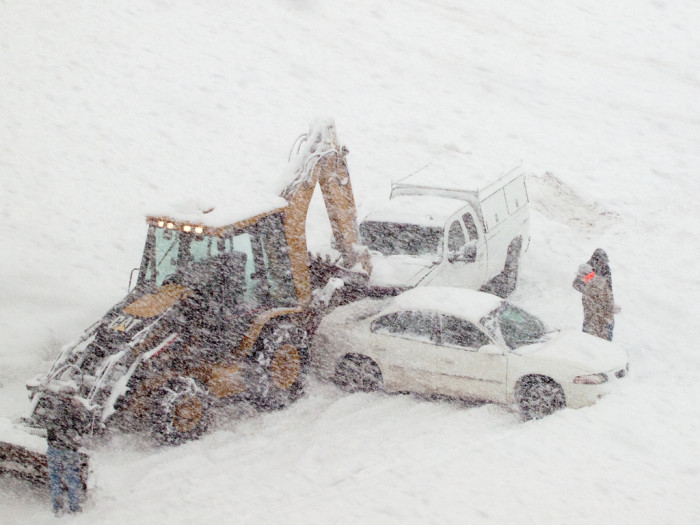 Everyone forgets how to drive the first day of winter.