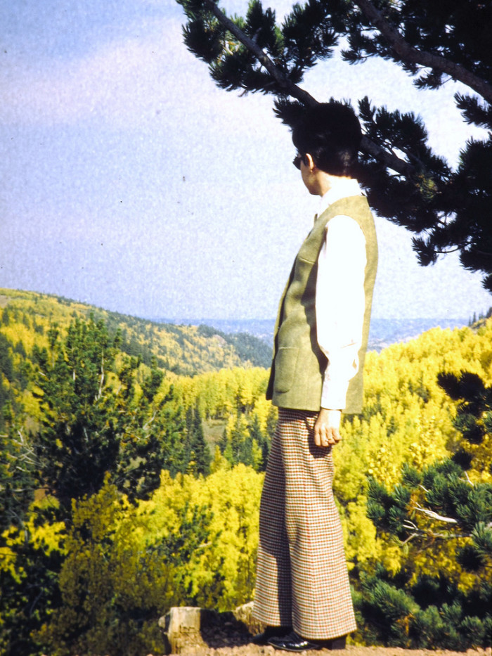 """19. """"Cheryl in (Fort Carson) Colorado, 1969."""""""
