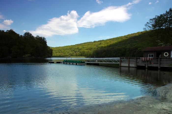 8. Cunningham Falls Lake, Frederick County