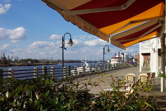 15. Nothing says romance like French cuisine, a wine bar, and a riverside view at Le Catalan in Wilmington.