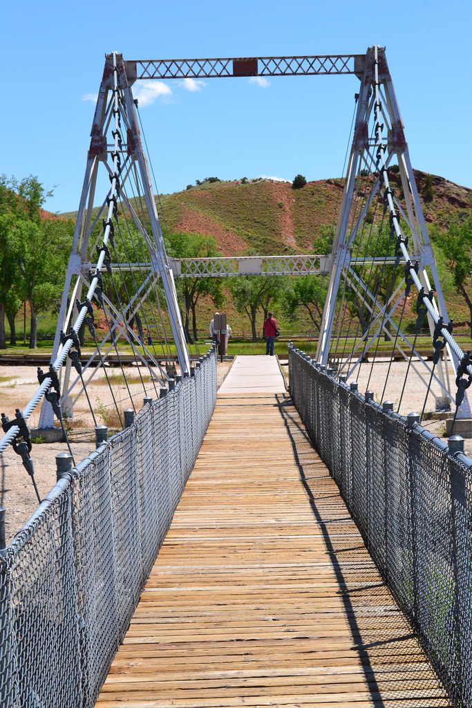 6. Swinging Bridge