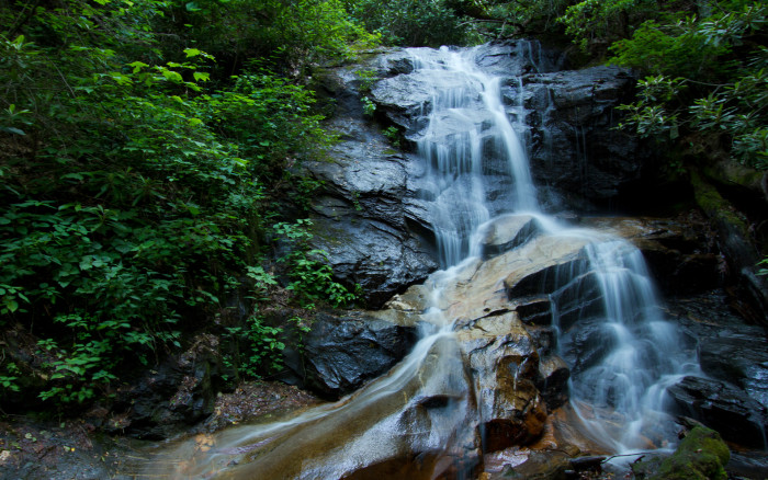 5. Cove Creek Falls