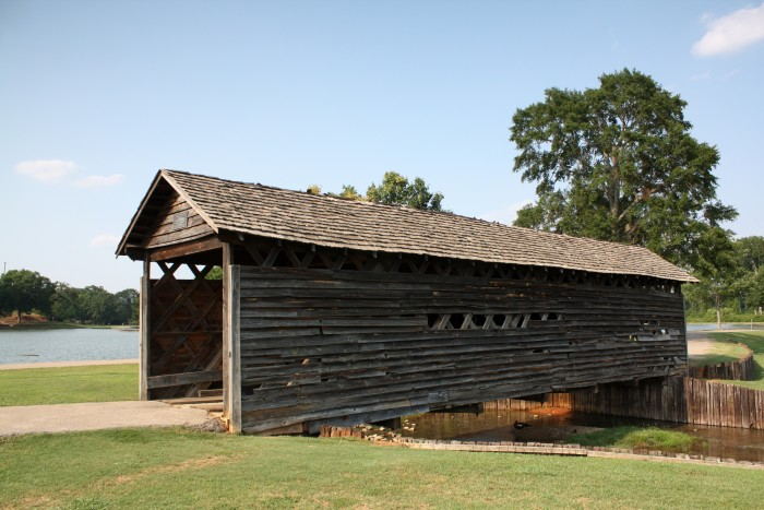 7. Coldwater Covered Bridge