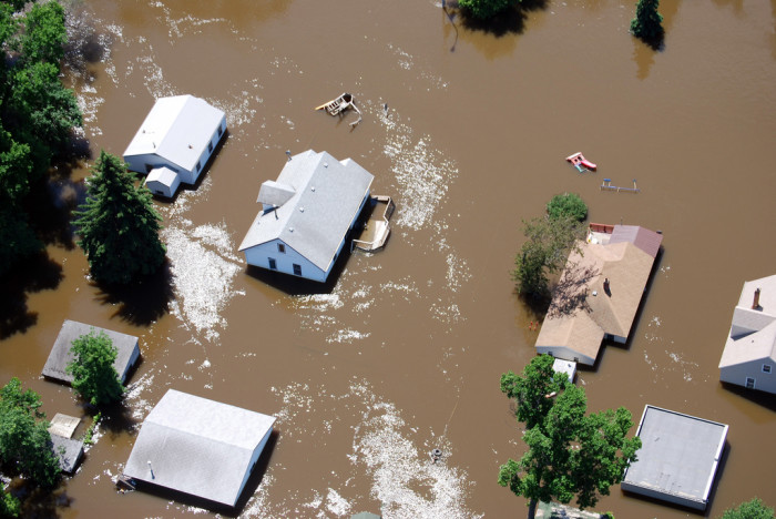 5. Flooding causes millions of dollars in damage and poses a life threat to those in the area.
