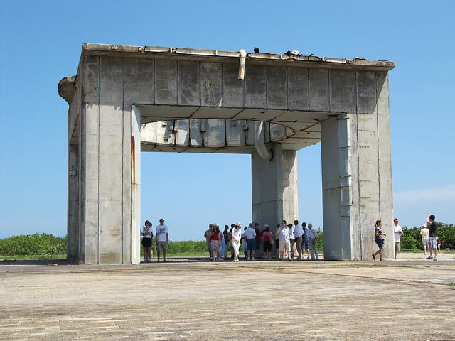 4. NASA's Launch Complex 34 in Cape Canaveral