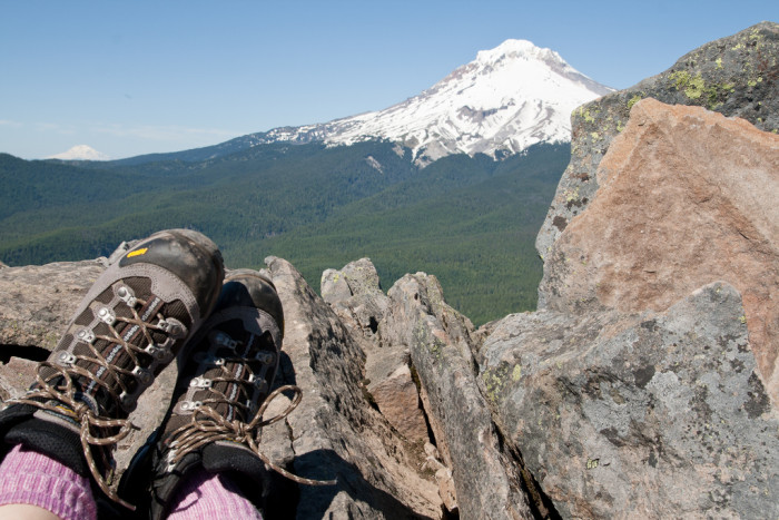 7. It's definitely worth it to invest in some good hiking boots.