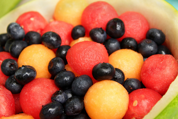 9. The freshest fruits and veggies!