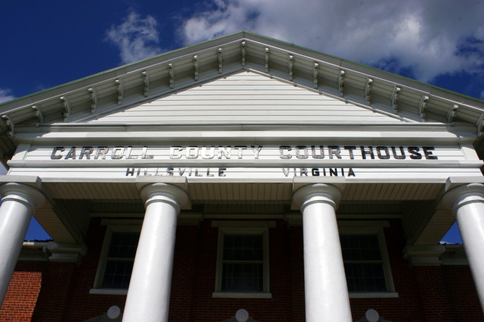 7. Carroll County Courthouse