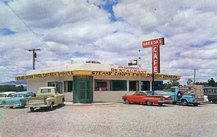 13. Brenda's Cafe, Lovelock, 1959