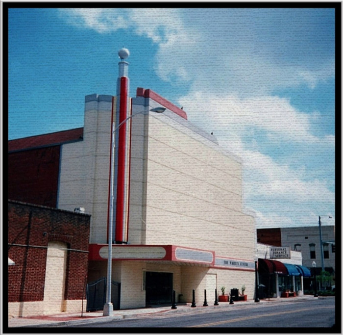 8. The Martin Theater in Douglas, Georgia.