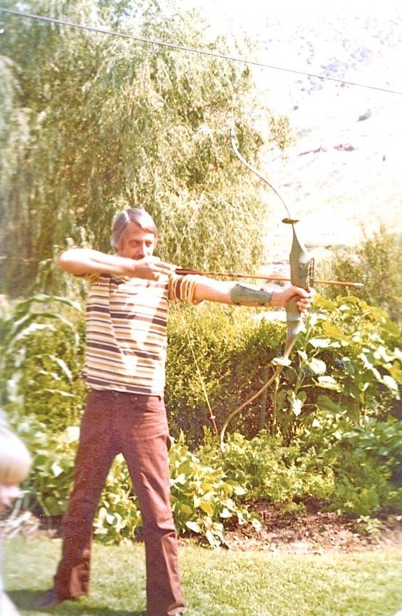 14. Bow practice, 1976