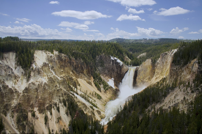 2. Wyoming is home to the first national park in the nation.