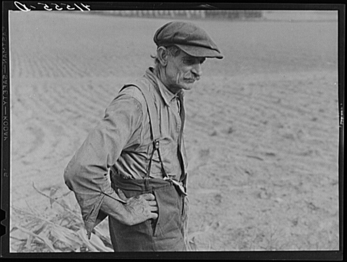 6. A farmer.
