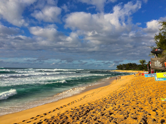 6) Sunset Beach, Oahu