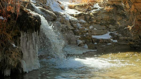 3. Rush Creek Waterfall (Pueblo)